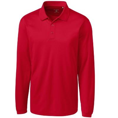 Clique Men's L/S Ice Pique Polo Shirt