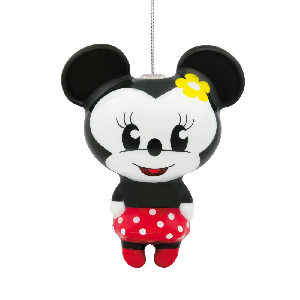 Hallmark Mickey Mouse & Friends Minnie Mouse Decoupage Christmas Ornament Red Polka-a-Dot, Multi-Colored