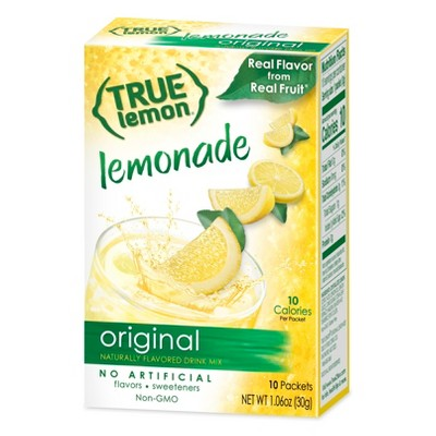 True Lemon Original Lemonade - 10pk/1.06oz