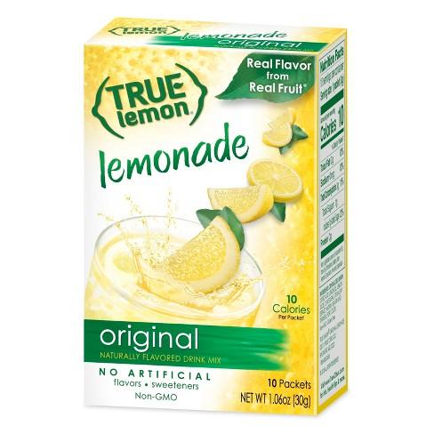 True Lemon Original Lemonade - 10pk/1.06oz - image 1 of 1