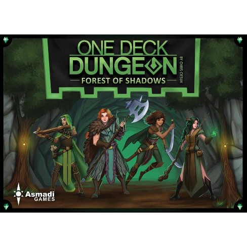One Deck Dungeon Forest Of Shadows Expansion Board Game