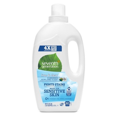 Seventh Generation™ Free & Clear Natural Liquid Laundry Detergent - 60oz