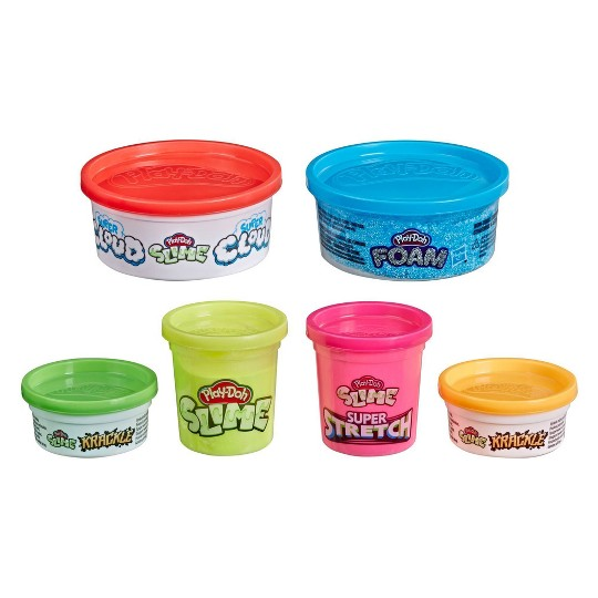 Play-Doh Slime Variety 6-Pack image number null