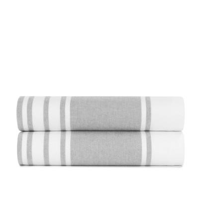 Mediterranean Towels Bath Sheet - Set of 2 - Standard Textile Home