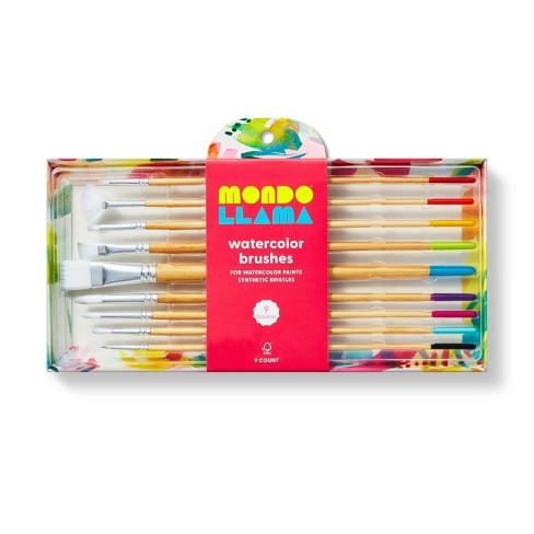 9ct Watercolor Brushes - Mondo Llama™ - image 1 of 4