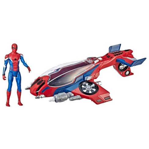 Spider-Man: Far From Home Spider-Jet with Spider-Man - image 1 of 14