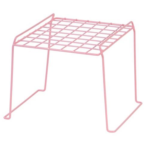 "Iris 8"" Wire Storage Locker Shelf- Pink - image 1 of 5"