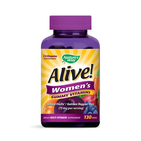 Alive! Women's Multivitamin Gummies - Fruit - 130ct - image 1 of 1