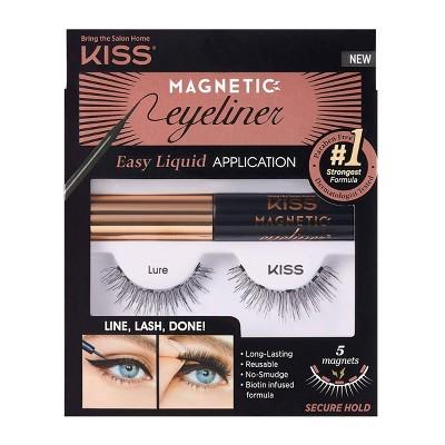 Kiss Magnetic Eyeliner False Eyelash Starter Kit - Lure