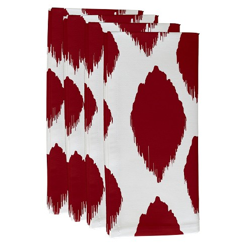 Abstract Throw Napkin Set - image 1 of 1