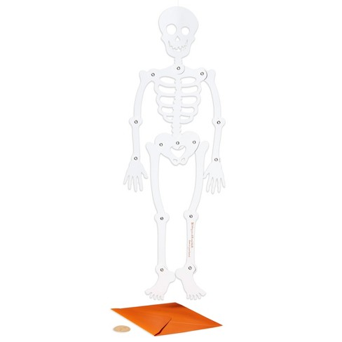 Papyrus Skeleton Halloween Greeting Card - image 1 of 4