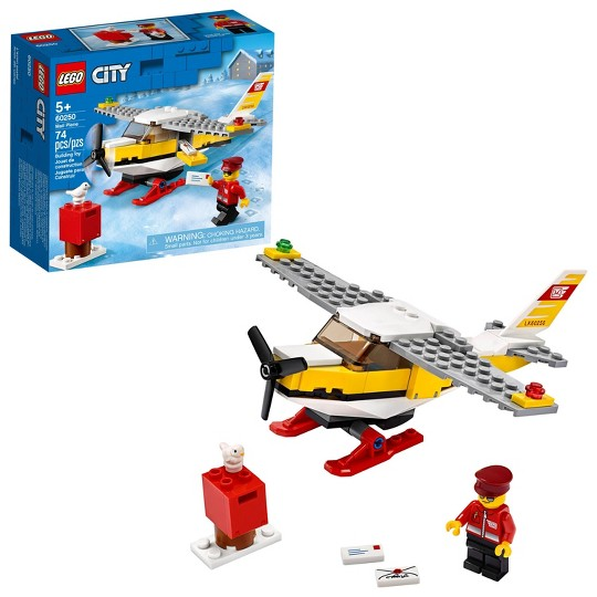 LEGO City Mail Plane 60250 Building Set image number null