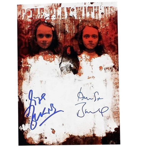 Nerd Block The Shining Twins Lisa and Louise Burns Autographed Picture - image 1 of 1