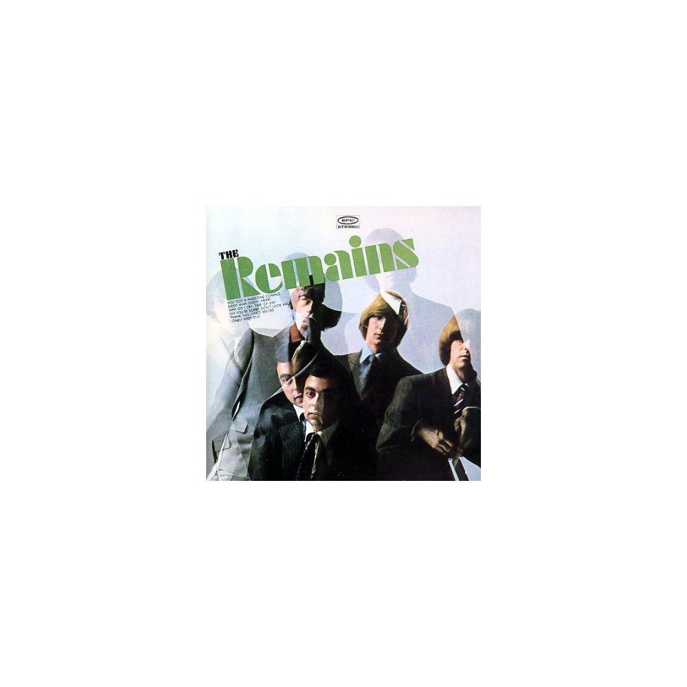 Remains - Remains (CD), Pop Music