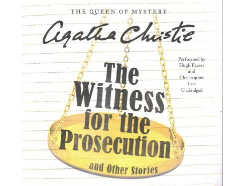 Witness for the Prosecution and Other Stories : Library Edition (Unabridged) (CD/Spoken Word) (Agatha - image 1 of 1