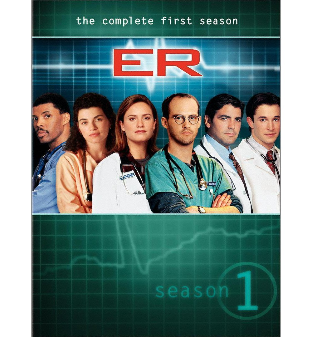 Time Warner ER: The Complete First Season [7 Discs]