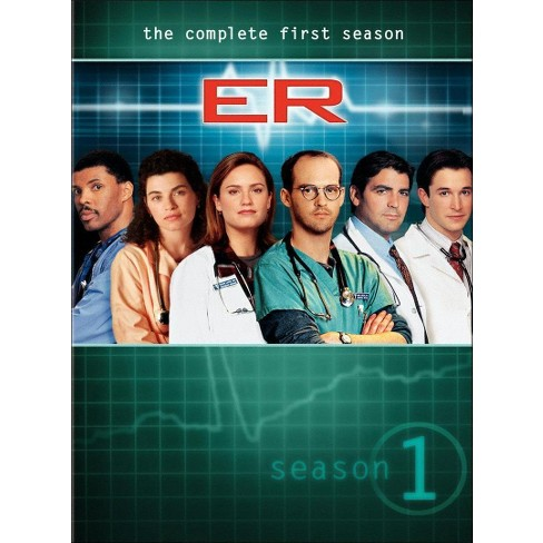 ER: The Complete First Season (7 Discs) (DVD) - image 1 of 1