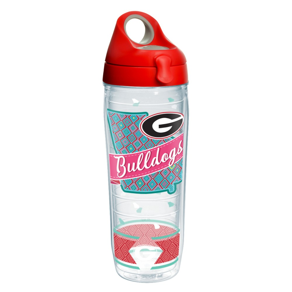 NCAA Georgia Bulldogs Tervis 24oz Class Water Bottle With Lid