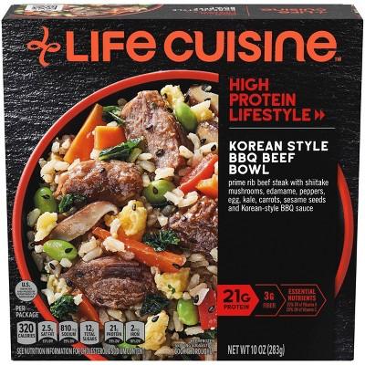 Life Cuisine Frozen Korean-Style BBQ Beef Bowl - 10oz