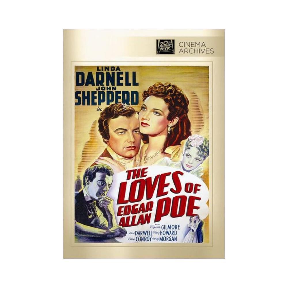 The Loves Of Edgar Allan Poe Dvd 2013