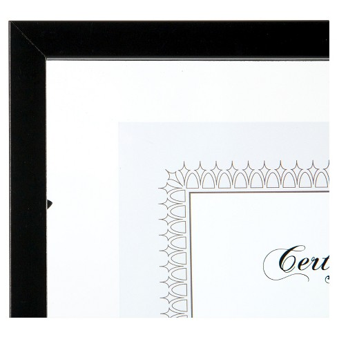 14x11 Black Floating Document Frame - Gallery Solutions : Target