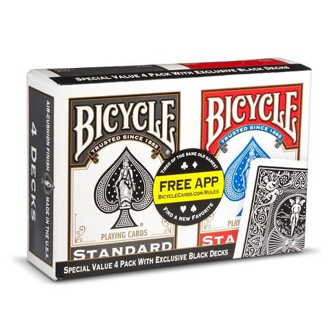 Bicycle Play Card Game 4pk - image 1 of 1