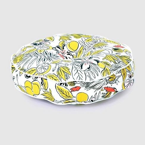Party Floral Round Outdoor Floor Cushion - Opalhouse™ - image 1 of 3