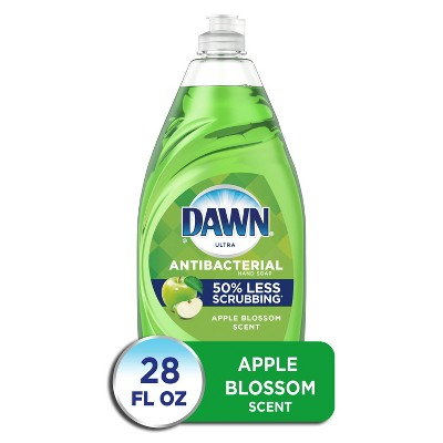 Dawn Ultra Antibacterial Hand Soap Apple Blossom Dishwashing Liquid Dish Soap