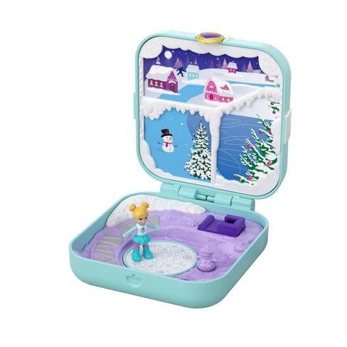 Polly Pocket Hidden Hideouts Frozen Fairytale Playset - image 1 of 4