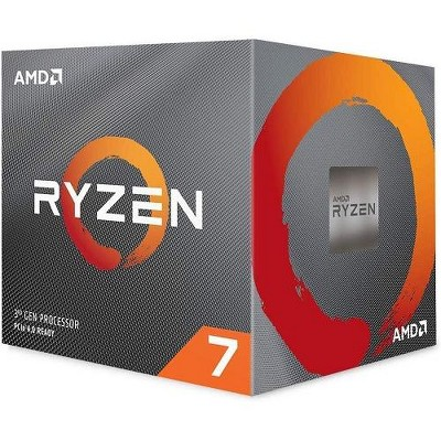 AMD Ryzen 7 3700X Unlocked Desktop Processor w/ Wraith Prism LED Cooler - 8 cores & 16 threads - 3.6 GHz- 4.4 GHz CPU Speed - 7nm Process Technology