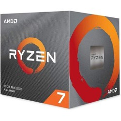 AMD Ryzen 7 3700X Unlocked Desktop Processor w/ Wraith Prism LED Cooler - 8 cores & 16 threads - 3.6 GHz- 4.4 GHz CPU Speed - 7nm Process Technology