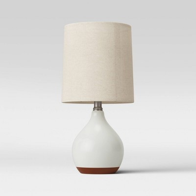 Ceramic Reactive LED Accent Lamp White (Includes Energy Efficient Light Bulb)- Threshold™