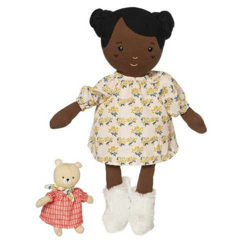 Manhattan Toy Playdate Friends Harper Machine Washable and Dryer Safe 14 Inch Doll with Companion Stuffed Animal - image 1 of 4