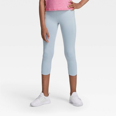 Girls' Side Pocket Capri Leggings - All in Motion™