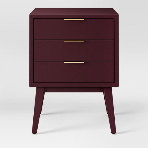 Hafley Three Drawer End Table - Project 62™ - image 1 of 3