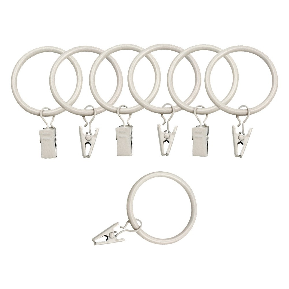 Image of Bali 1.5 Curtain Rings - Cream (Ivory)