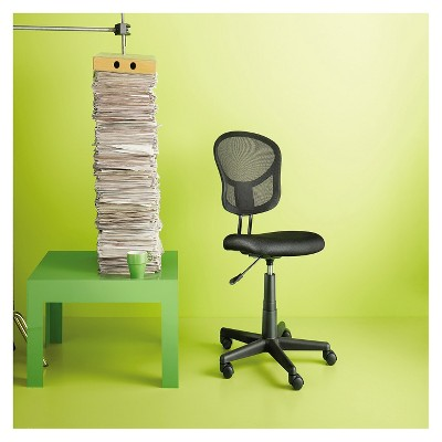Mesh Office Chair Black   Room Essentials™