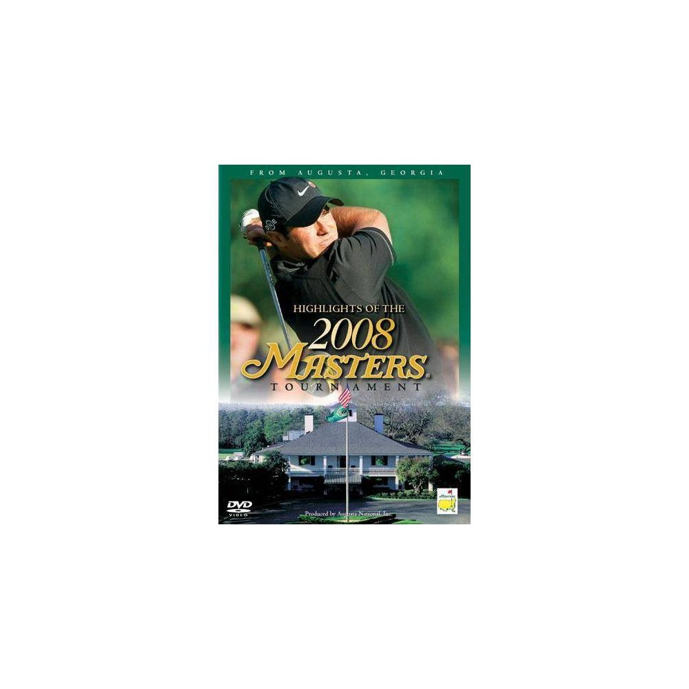 Best Online Highlights Of The 2008 Masters Tournament Dvd