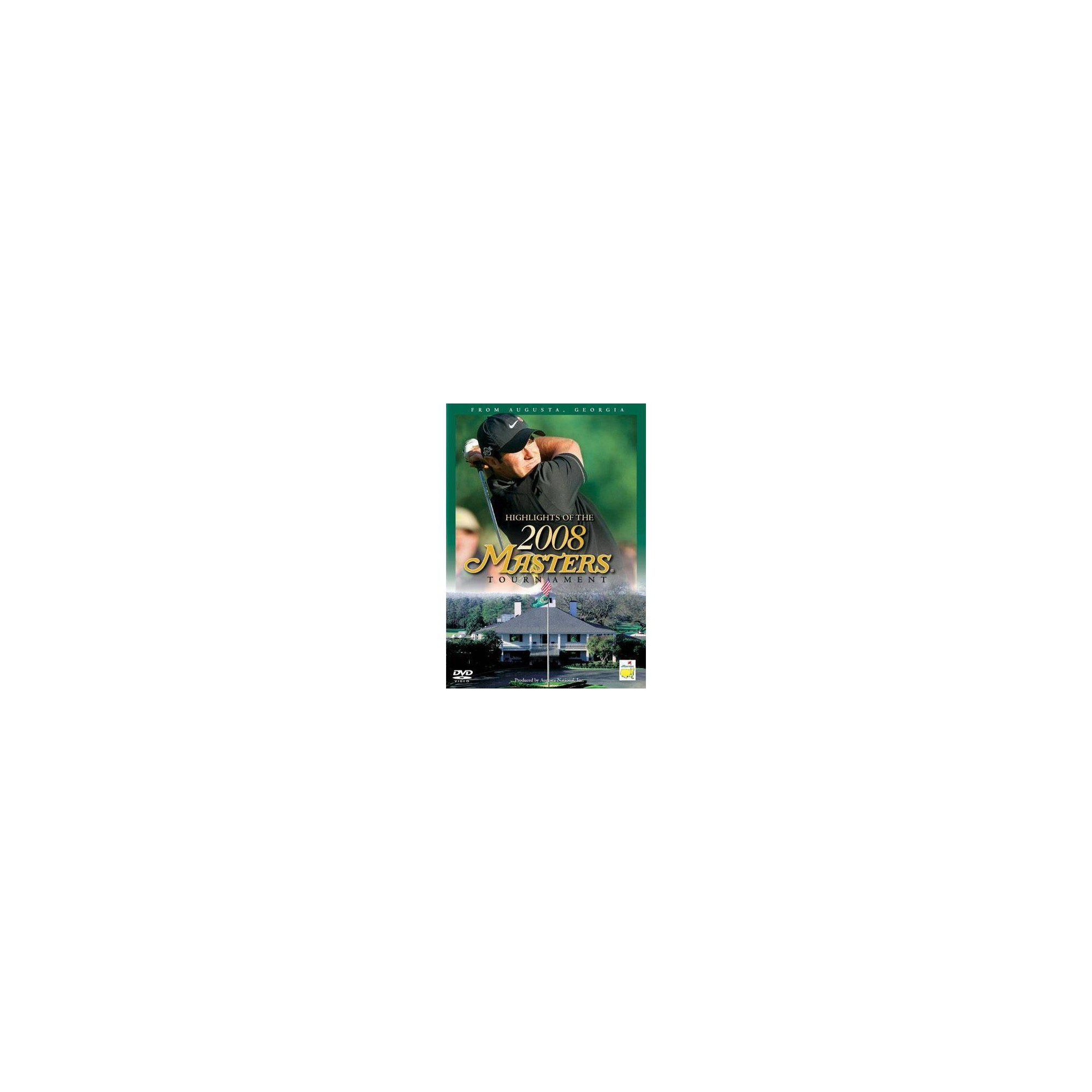 Highlights Of The 2008 Masters Tournament (Dvd)