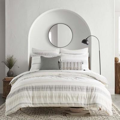 Pickford Comforter Set - Taupe, Grey & Cream - Levtex Home