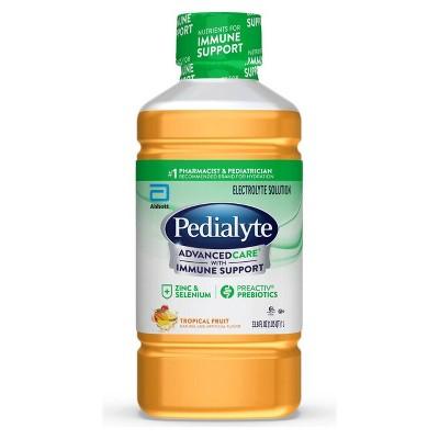 Pedialyte AdvancedCare Electrolyte Solution - Tropical Fruit - 33.8 fl oz
