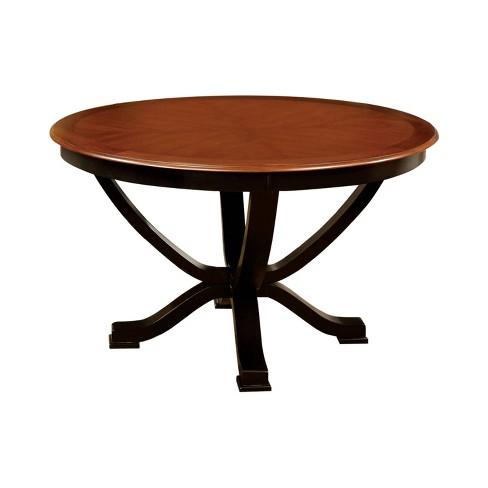 Acacia Round Dining Table Black Iohomes Target