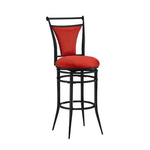 Superb Cierra Swivel 26 Counter Stool Metal Flame Hillsdale Furniture Dailytribune Chair Design For Home Dailytribuneorg