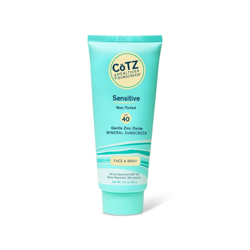 Image of CoTZ Sensitive Sunscreen Lotion - SPF 40 - 3.5oz