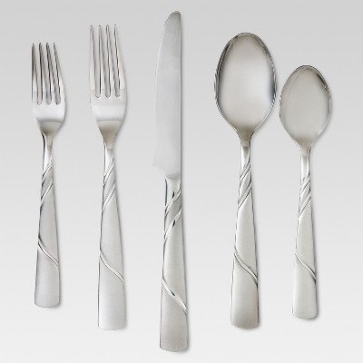Marisol Silverware Set 20-pc. Stainless Steel - Threshold™