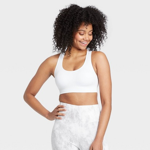 Women's Medium Support Seamless Racerback Bra - All in Motion™ - image 1 of 4