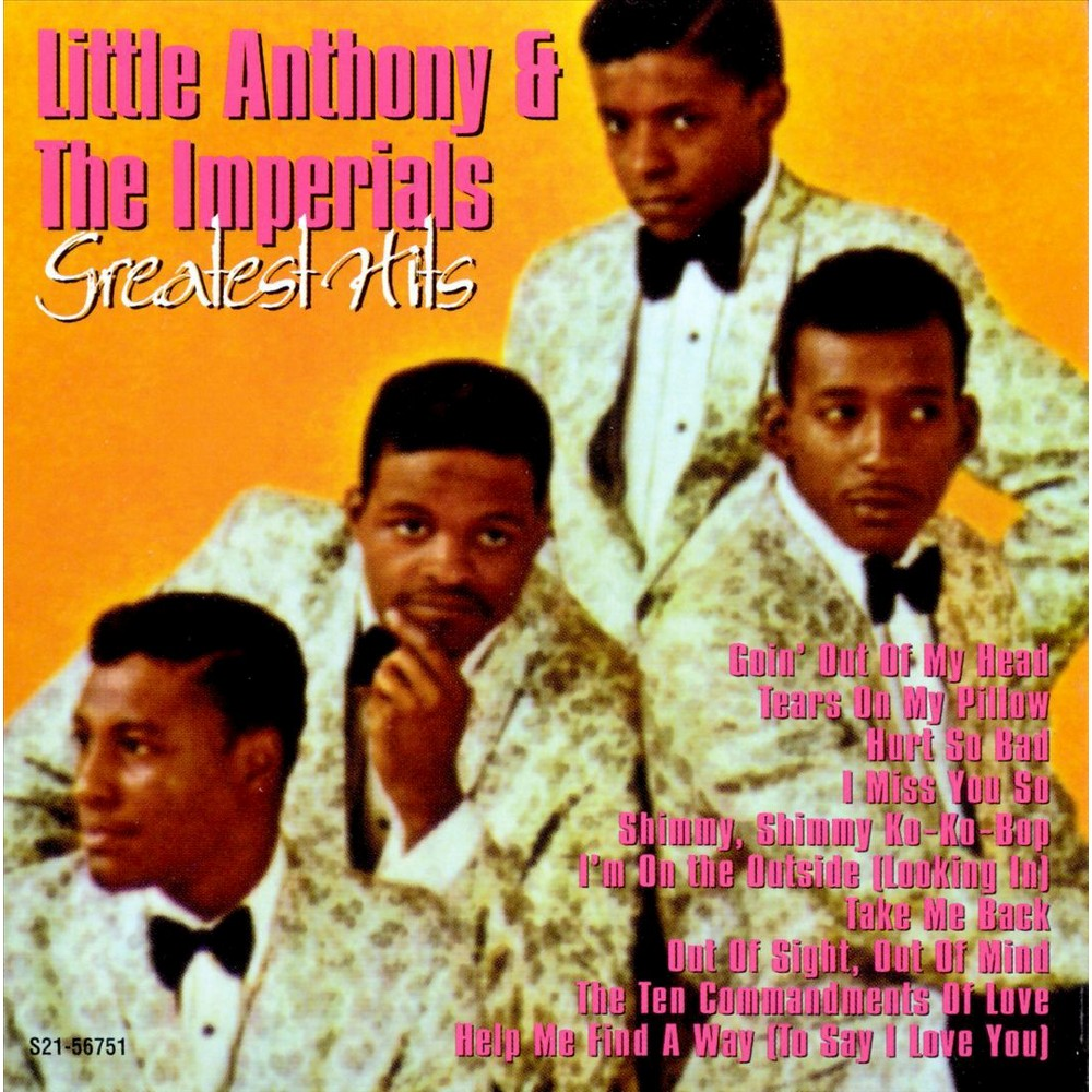 Little Anthony And T - Greatest Hits Of Little Anthony (CD)