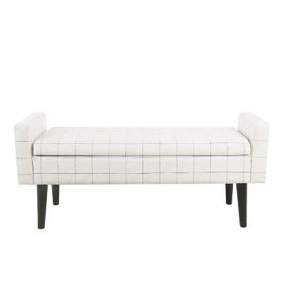 Fulton Storage Bench - Homepop