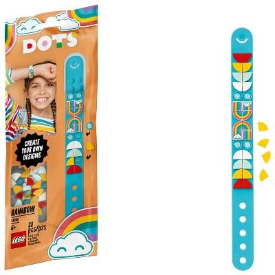LEGO DOTS Rainbow Bracelet DIY Craft Bracelet Making Kit 41900