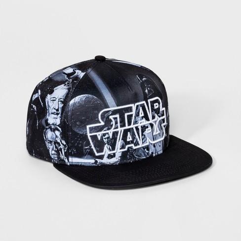 5e7d546ee Men's Star Wars Print Baseball Hat - Black One Size